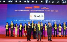 Sun Life Việt Nam nhận Giải Thưởng Rồng Vàng năm 2021