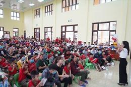 'Sinh Con, Sinh Cha' đến với hơn 300 phụ huynh và trẻ mầm non tỉnh Bắc Ninh