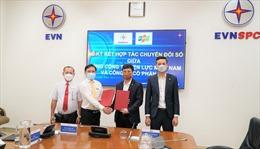 EVNSPC hợp tác với FPT thực hiện số hoá hoạt động sản xuất kinh doanh