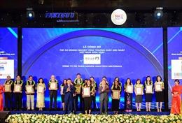 Masan High-Tech Materials năm thứ 3 liên tiếp lọt Top 50 DN tăng trưởng xuất sắc nhất Việt Nam