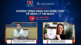 Nâng cao nhận thức của chuyên gia y tế về bệnh lý tim mạch