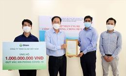 Olam Việt Nam tài trợ hơn 5,2 tỷ đồng cho Quỹ vaccine phòng chống COVID-19