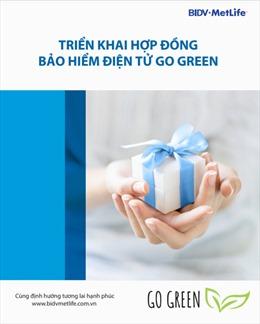 BIDV MetLife triển khai Bộ hợp đồng bảo hiểm điện tử
