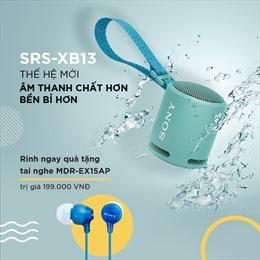 Sony ra mắt Loa không dây di động nhỏ gọn SRS-XB13 với âm thanh EXTRA BASSTM
