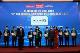 Masan High-Tech Materials được vinh danh Top 100 Thương hiệu Mạnh Việt Nam 2020-2021