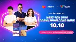 Lazada Việt Nam tôn vinh Doanh nhân Công nghệ 10/10