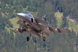 Rơi máy bay chiến đấu vì va chạm với chim, phi công bật dù thoát thân