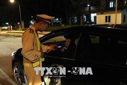 Tăng cường kiểm tra, xử lý lỗi vi phạm nồng độ cồn khi tham gia giao thông