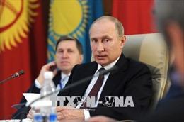 Tổng thống Nga họp với Hội đồng An ninh về lệnh trừng phạt mới của Mỹ