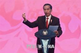 Tổng thống Cộng hòa Indonesia bắt đầu thăm cấp Nhà nước Việt Nam