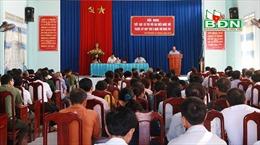 Ghi nhận nhiều ý kiến, kiến nghị thiết thực của cử tri Đắk Nông