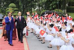 Tổng thống Indonesia kết thúc tốt đẹp chuyến thăm cấp Nhà nước Việt Nam