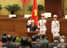 Điện và thư chúc mừng Tổng Bí thư Nguyễn Phú Trọng được bầu làm Chủ tịch nước