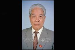 Nước bạn Lào chia buồn về việc nguyên Tổng Bí thư Đỗ Mười từ trần