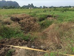 Quảng Ninh: Xuất hiện 'hố tử thần' ngay sát nhà dân