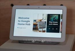 Google 'trình làng' loa thông minh Google Home Hub gắn màn hình cảm ứng