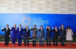Thủ tướng Nguyễn Xuân Phúc tham dự khai mạc Hội nghị thường niên IMF - WB