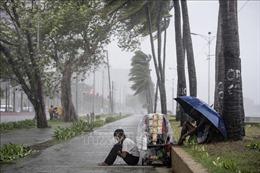 Bão Yutu càn quét Philippines, khoảng 10.000 người phải sơ tán khẩn