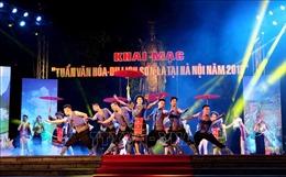 Rộn ràng sắc màu các dân tộc Sơn La tại Hà Nội