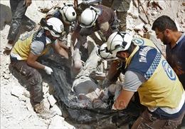 Phiến quân sử dụng 'khí độc' tấn công Aleppo làm 107 người bị thương