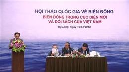 Biển Đông trong cục diện mới và đối sách của Việt Nam