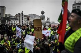 Biểu tình 'Áo vàng' lan tới Bồ Đào Nha