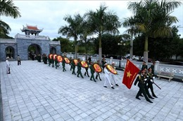Truy điệu và an táng 30 hài cốt liệt sỹ quân tình nguyện Việt Nam hy sinh tại Lào