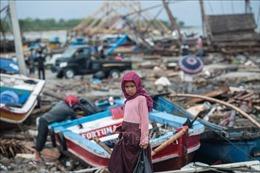Số nạn nhân thiệt mạng trong thảm họa sóng thần ở Indonesia lên tới 437 người