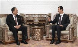 Triều Tiên và Syria tăng cường quan hệ song phương