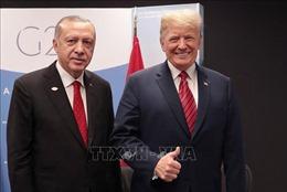 Điện đàm Donald Trump - Tayyip Erdogan về thiết lập vùng an toàn tại Syria