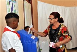 Người dân Cuba bỏ phiếu thông qua Hiến pháp mới
