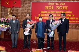 Công bố quyết định ông Trần Tiến Dũng giữ chức Phó Bí thư Tỉnh ủy Lai Châu