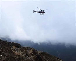 Rơi trực thăng chở Bộ trưởng Du lịch Nepal