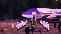 Video Tổng thống Mỹ Donald Trump đến Hà Nội