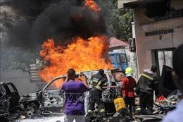 Đánh bom xe tại khu chợ đông đúc ở Somalia, ít nhất 9 người thiệt mạng