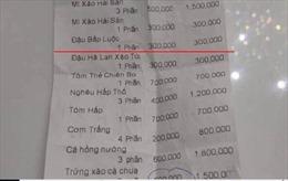 Ngành chức năng Khánh Hòa nói gì về trứng xào cà chua giá bạc triệu?