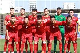 Bộ trưởng Nguyễn Ngọc Thiện động viên tinh thần U22 Việt Nam trước trận bán kết
