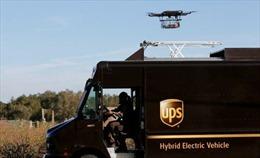 Tập đoàn chuyển phát nhanh hàng đầu UPS sử dụng thiết bị bay không người lái