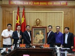 Đoàn công tác của Ban Nội chính Trung ương thăm, làm việc tại tỉnh Hà Giang