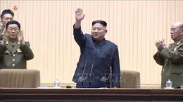 Chủ tịch Triều Tiên Kim Jong-un chủ trì hội nghị sĩ quan quân đội