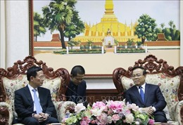 Lãnh đạo Lào đánh giá cao hiệu quả hợp tác với Bộ Thông tin và Truyền thông Việt Nam
