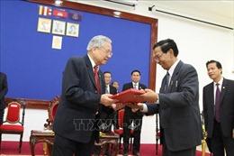 Đoàn đại biểu cựu quân tình nguyện Việt Nam thăm và làm việc tại Campuchia