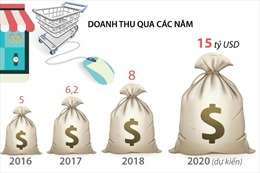 Thương mại điện tử Việt Nam có thể đạt doanh thu 15 tỷ USD vào năm 2020