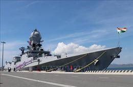 Hai tàu Hải quân Ấn Độ thăm xã giao Việt Nam