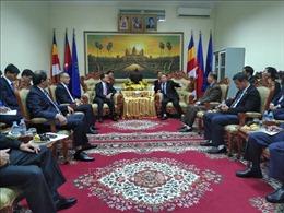 Việt Nam - Campuchia hợp tác thúc đẩy tự do tôn giáo và tín ngưỡng