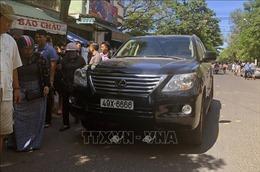 Xe Lexus lao vào đám tang tại Quy Nhơn làm 2 người chết, 9 người bị thương