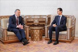 Tổng thống Syria tiếp Phó Thủ tướng Nga Yury Borisov