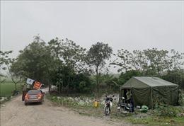 Phát hiện ổ dịch tả lợn châu Phi mới, Ninh Bình lập 3 chốt kiểm dịch động vật