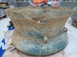Phát hiện trống đồng hàng nghìn năm tuổi tại Lào Cai