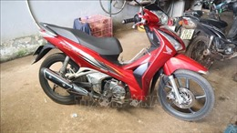 Truy đuổi hơn 70 km bắt đối tượng trộm cắp xe máy